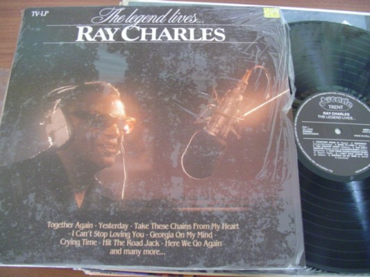 RAY CHARLES - THE LEGEND LIVES - ARCADE TRENT